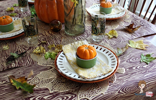 Casual Fall Tablesetting by Atta Girl Says