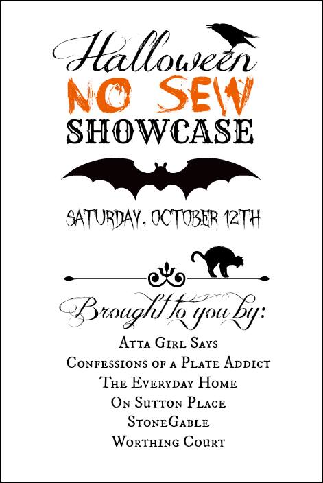 Halloween No-Sew Decorating Showcase