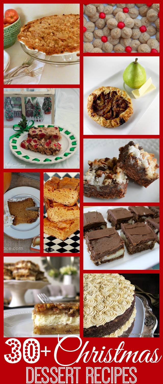 More than 30 Christmas Dessert Recipes