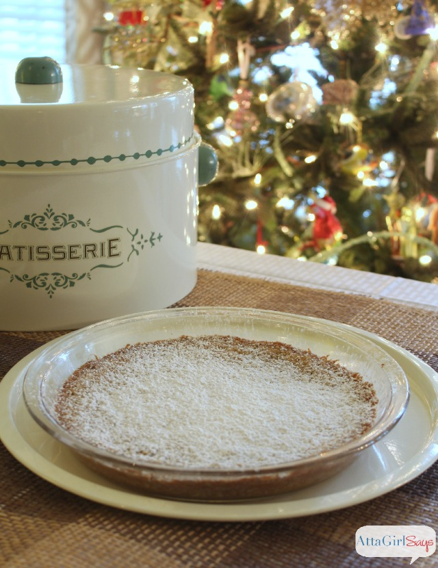 Absolutely Addictive Ooey Gooey Chess Pie with Homemade Oatmeal Cookie Crust