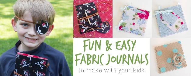 No-Sew Personalized Journals for Kids