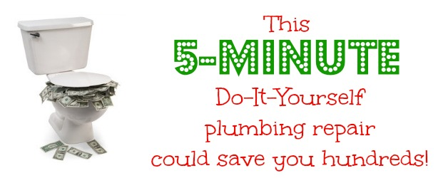 Save yourself a plumber's bill (and high water bills, too!) and learn how to fix a running toilet. The simple repair takes just 5 minutes and costs less than $10.