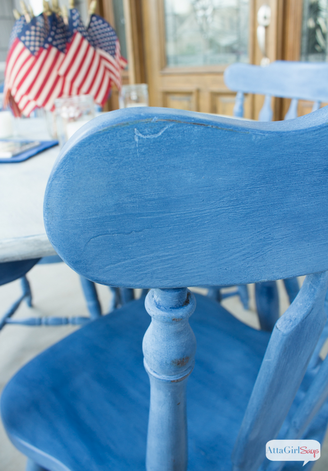 How to Paint Laminate Furniture: Kitchen Table Maekover