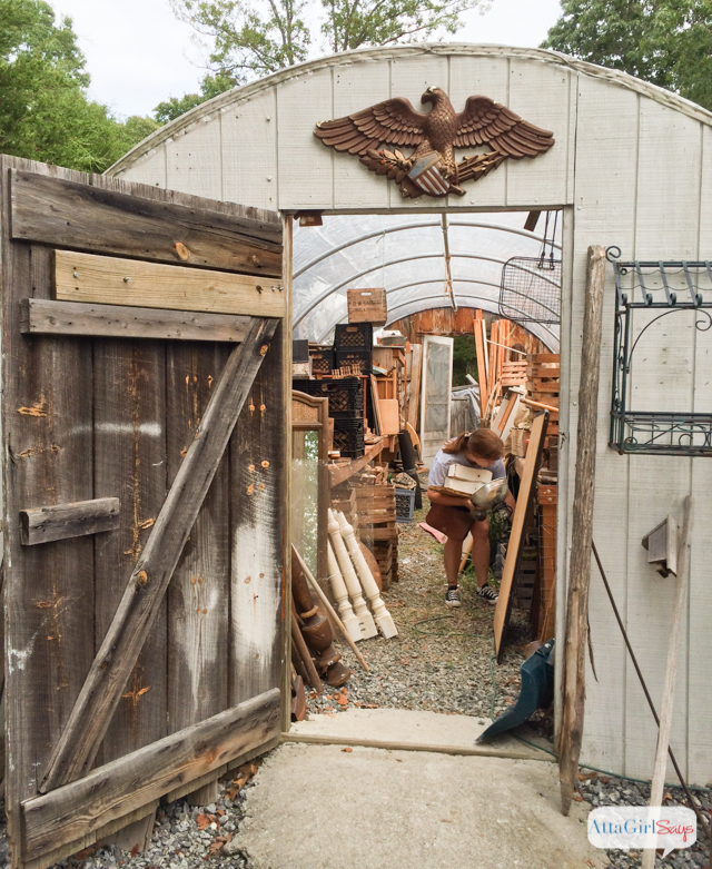 Junk Shopping at a Picker's Home