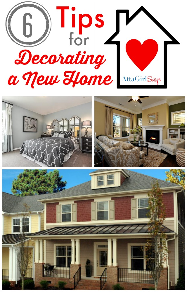 Tips for Decorating a New Home #ILoveLennar