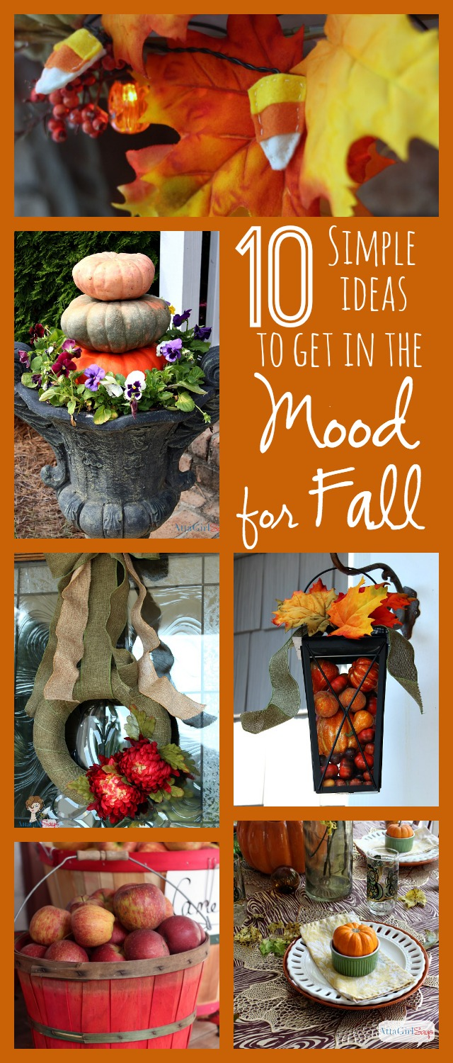10 Simple Ideas to Get In the Mood for Fall