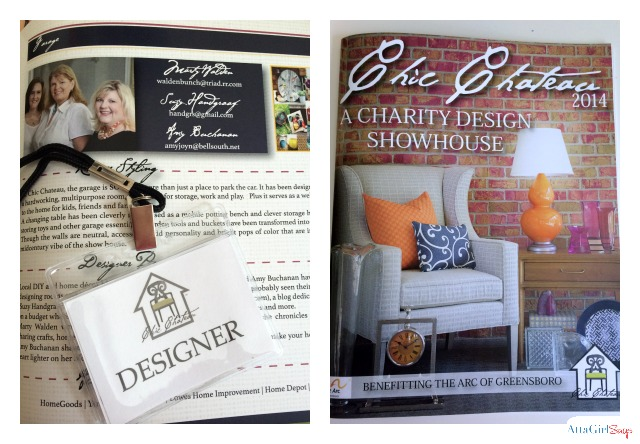 Chic Chateau Designer Showhouse in Greensboro, NC.