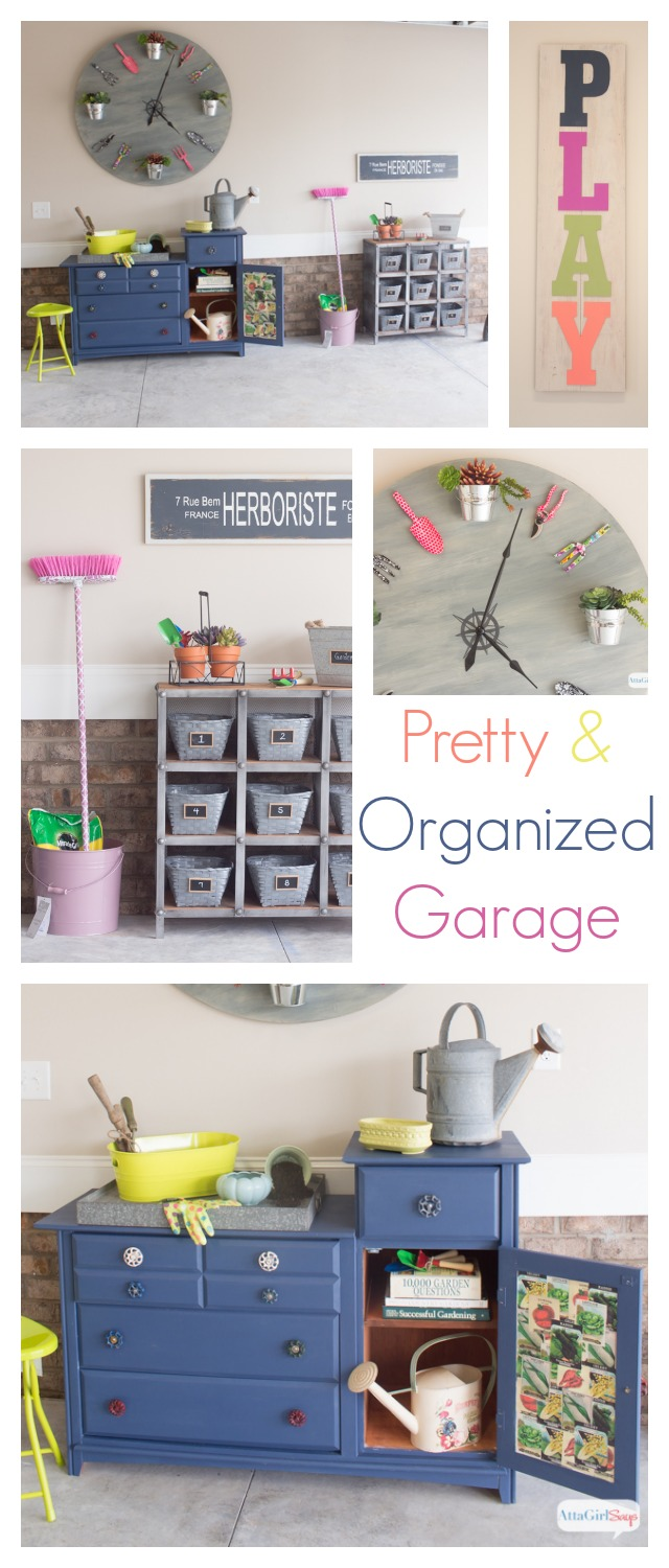 Pretty and Organized Garage at Chic Chateau