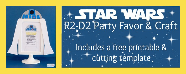 R2-D2 Star Wars Party Favors Craft