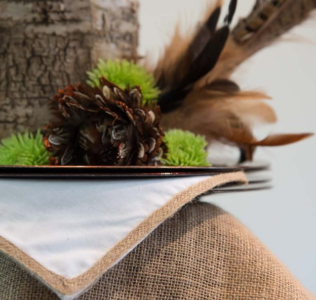 Feather Frenzy Table Styling Kit from Sparkle & Dine