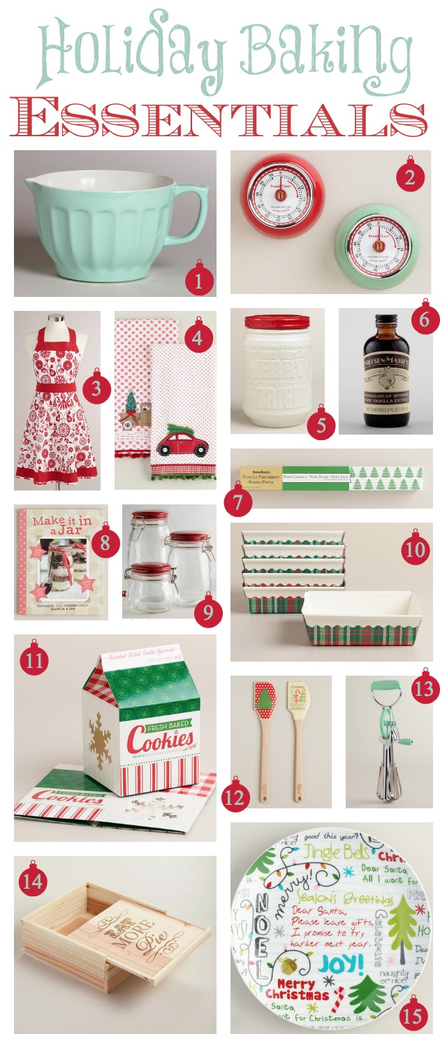Holiday Baking Essentials at World Market & Homemade Food Gifts