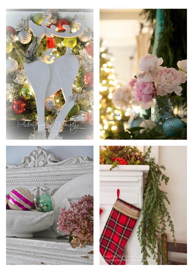 Christmas Mantel Decor