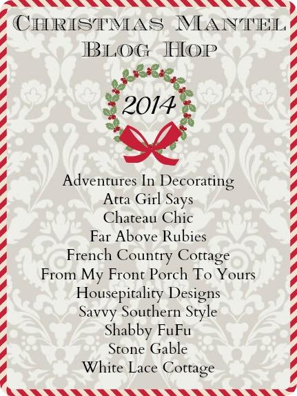 Christmas Mantel Blog Hop
