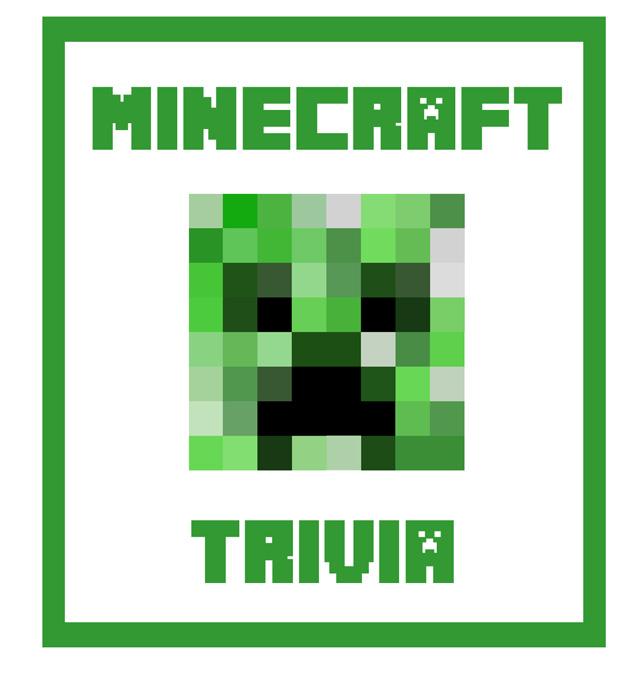 Free Printable Minecraft Trivia Cards