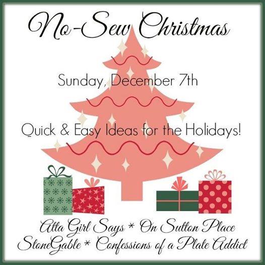 No-Sew Christmas Button