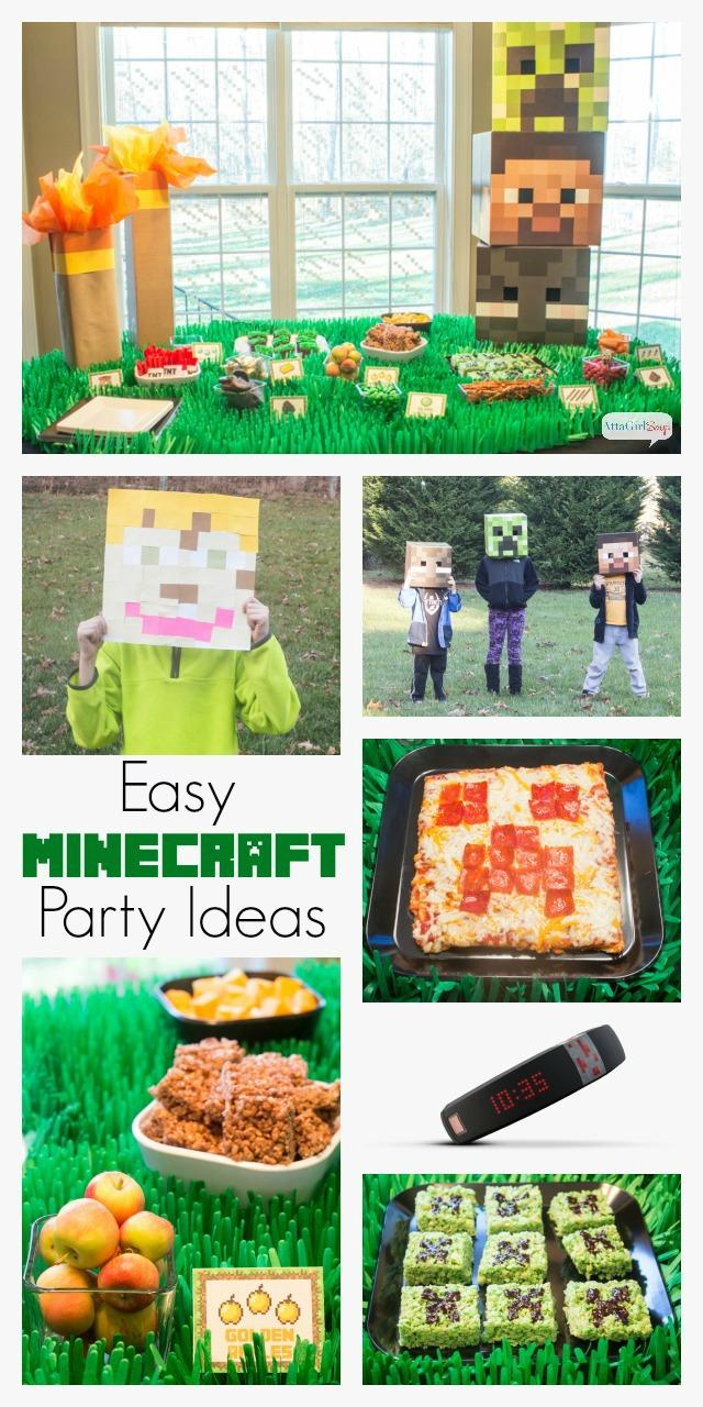 Easy Minecraft Party Ideas #GameonTheGo #cbias #ad