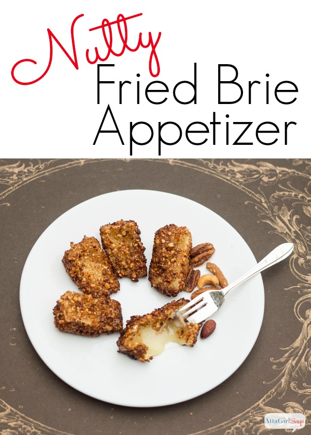 This nutty fried brief recipe is a great party appetizer (and it's quicker to make than you think). Plus it makes a great topper for a winter fruit salad.
