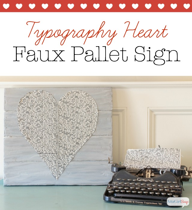 Learn how to make a faux pallet wood sign using foam sheets , paint and other materials. You can get the same look as wood but without the weight or having to use power tools.