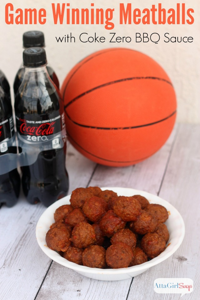 Try this tangy barbecue crockpot meatball recipe featuring Coke Zero #UnbelievableMoments #CollectiveBias
