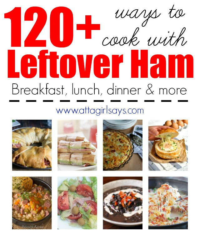 120 leftover ham recipes for Easter and Christmas