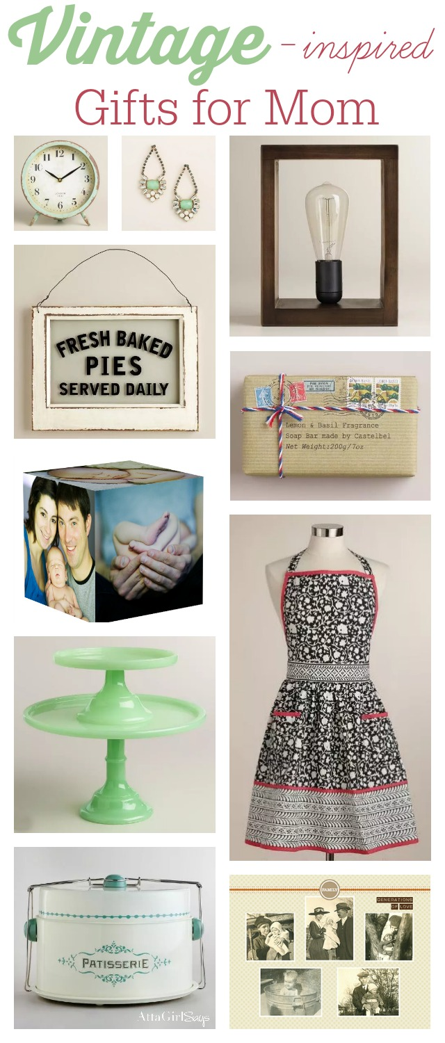 Vintage Inspired Mothers Day Gift Ideas #MyAmazingMom #spon