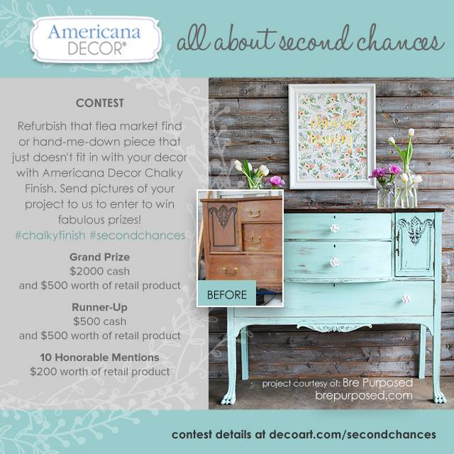 DecoArt Second Chances Contest