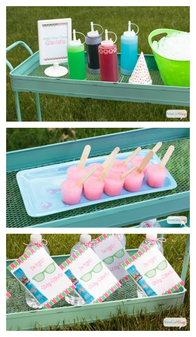 Celebrate summer with these backyard beach party ideas. Click for recipes, crafts, decorations, printables and fun party game ideas that kids will love!