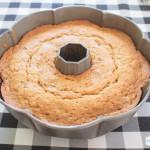 Carrot cake in a Bundt pan