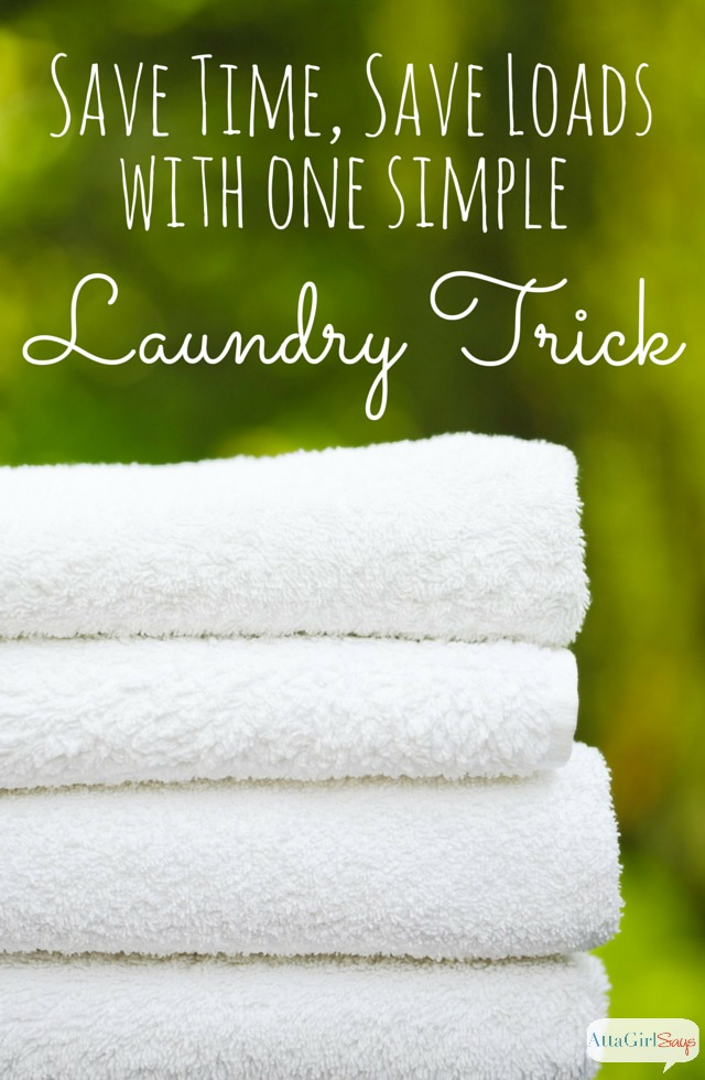 Ready to tame the dirty laundry monster once and for all? This one simple laundry trick will save you loads and time. What are some of your favorite laundry tips?