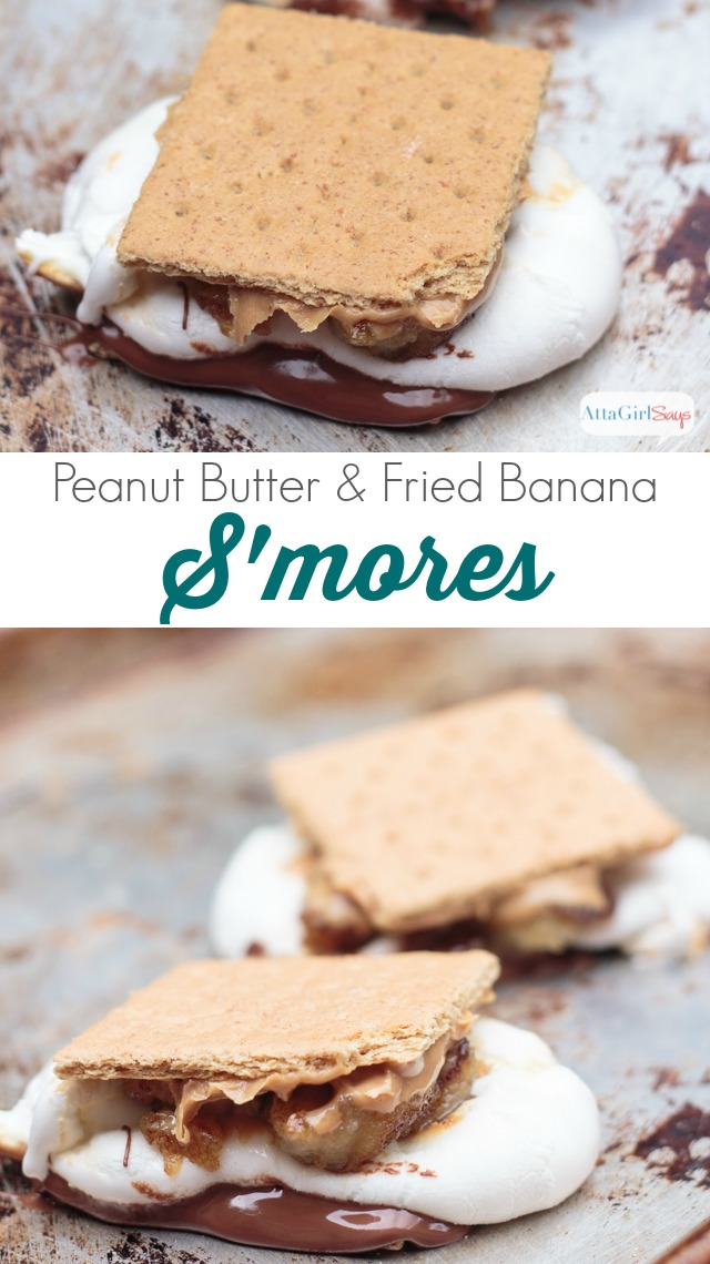 """Famously, Elvis Presley loved fried peanut butter and banana sandwiches. This s'mores recipe would make the King of rock n' roll shimmy and shake! Toast up one of these, and you'll say, """"Thankyouverymuch."""" #HersheysSummer"""