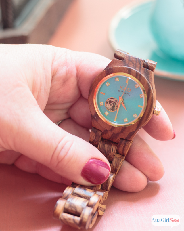 Jord Cora Zebrawood & Turquoise #sponsored #jordwatch