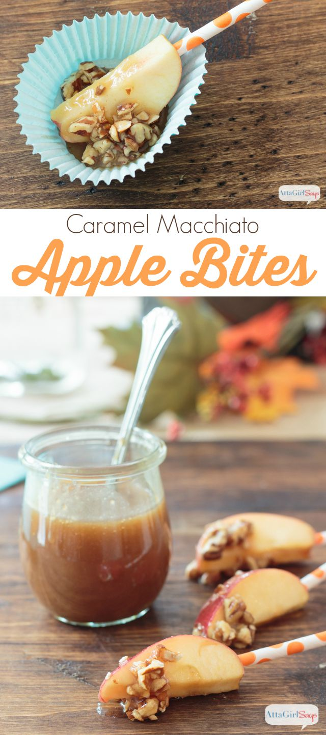 Whip up a quick homemade caramel sauce, using this easy recipe, then drizzle it on everything. My favorites are these Caramel Macchiato Apple Bites, topped with crushed nuts and pretzels. The perfect salty and sweet combo. #CreateDelight #IDelight #ad