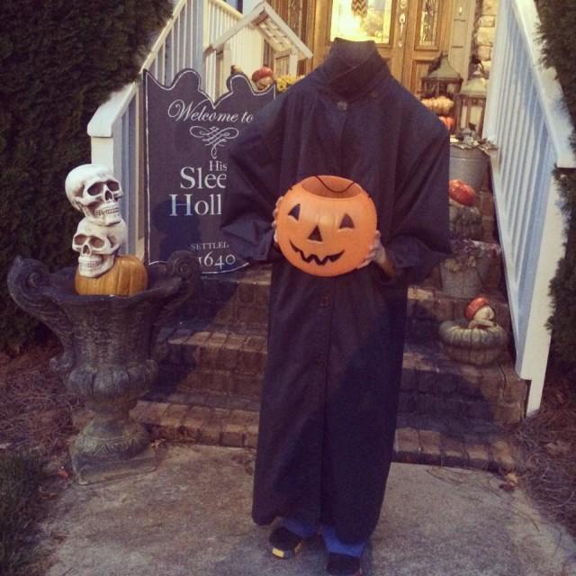 Headless Horseman Outdoor Halloween Decorations