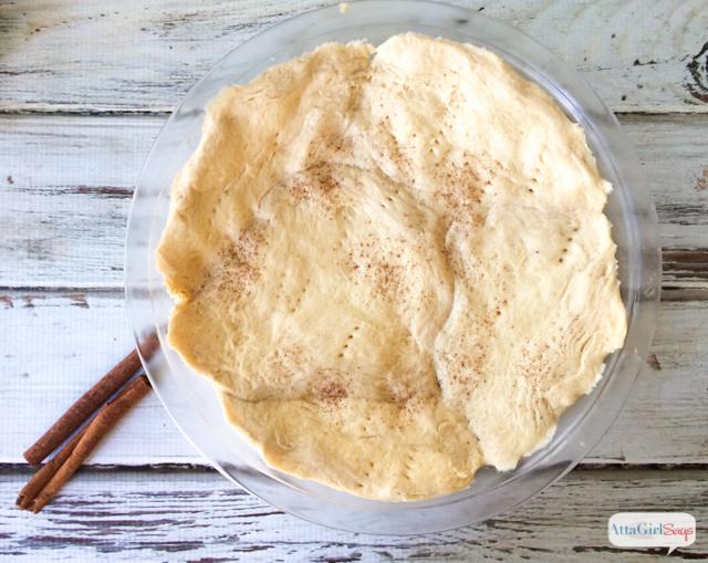 biscuit crust for homemade applesauce pie