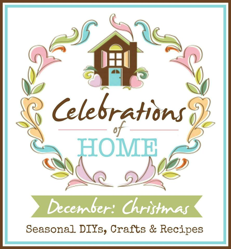 Join us for #CelebrationsOfHome, a monthly blog hop where we share seasonal crafts, DIY, decorating ideas and recipes to inspire you. This month, we are featuring Christmas ideas.