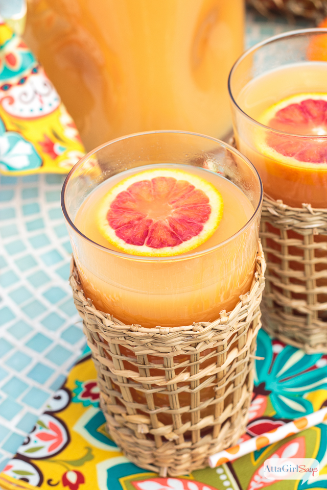 homemade Hawaiian POG juice