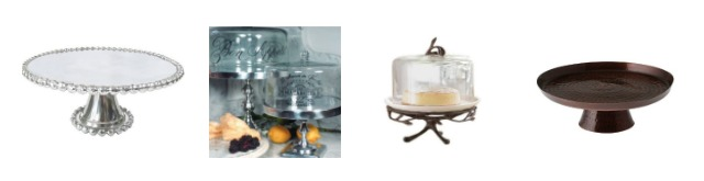 These metal cake stands are great for serving, parties and for decorating. Learn where to buy them, plus see more of pretty cake stands at AttaGirlSays.com.