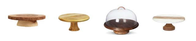 These wooden cake stands are great for serving, parties and for decorating. Learn where to buy them, plus see more of pretty cake stands at AttaGirlSays.com.