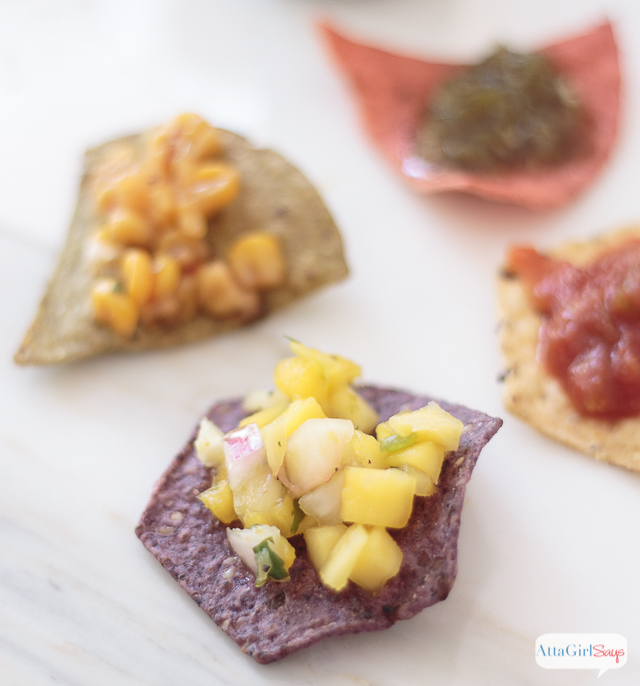 We tested six different combos of tortilla chips and salsa and picked our favorites. Learn how to throw your own snacktastic chips and salsa and beer tasting party, plus get a free printable pairings worksheet. #sponsored #FoodShouldTasteGood