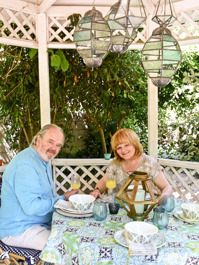 Actress Lesley Nicol and her husband have a lovely home in Los Angeles. Their backyard garden is secluded and lush, the perfect place to relax. But it needed a makeover. AttaGirlSays.com and World Market provided that, creating a relaxing oasis for the couple with zones for dining, lounging and conversation. There are so many great backyard design ideas in this makeover. #sponsored #worldmarkettribe