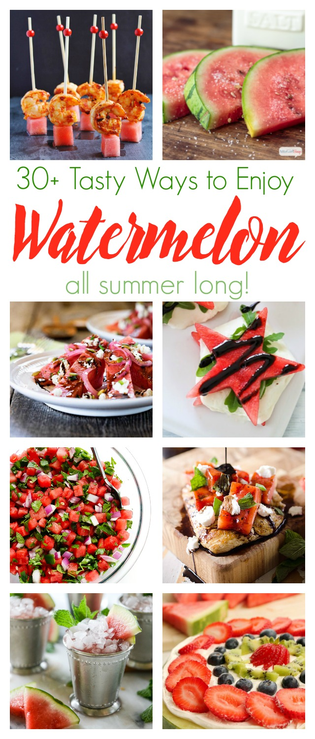 30 watermelon recipes for summer