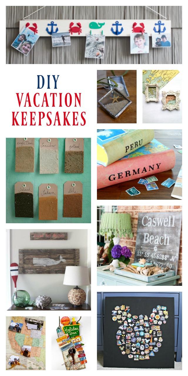 DIY Vacation Keepsakes