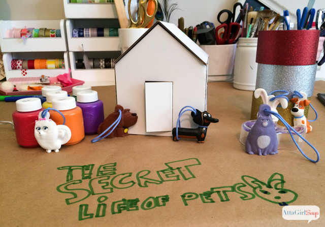Crafts and breakfast buffet ideas inspired by the movie The Secret Life of Pets. #sponsored @petsmovie #TheSecretLifeofPets