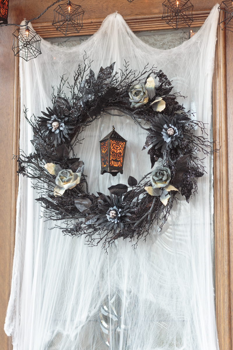 Haunted Halloween Boneyard Front Porch from Atta Girl Says