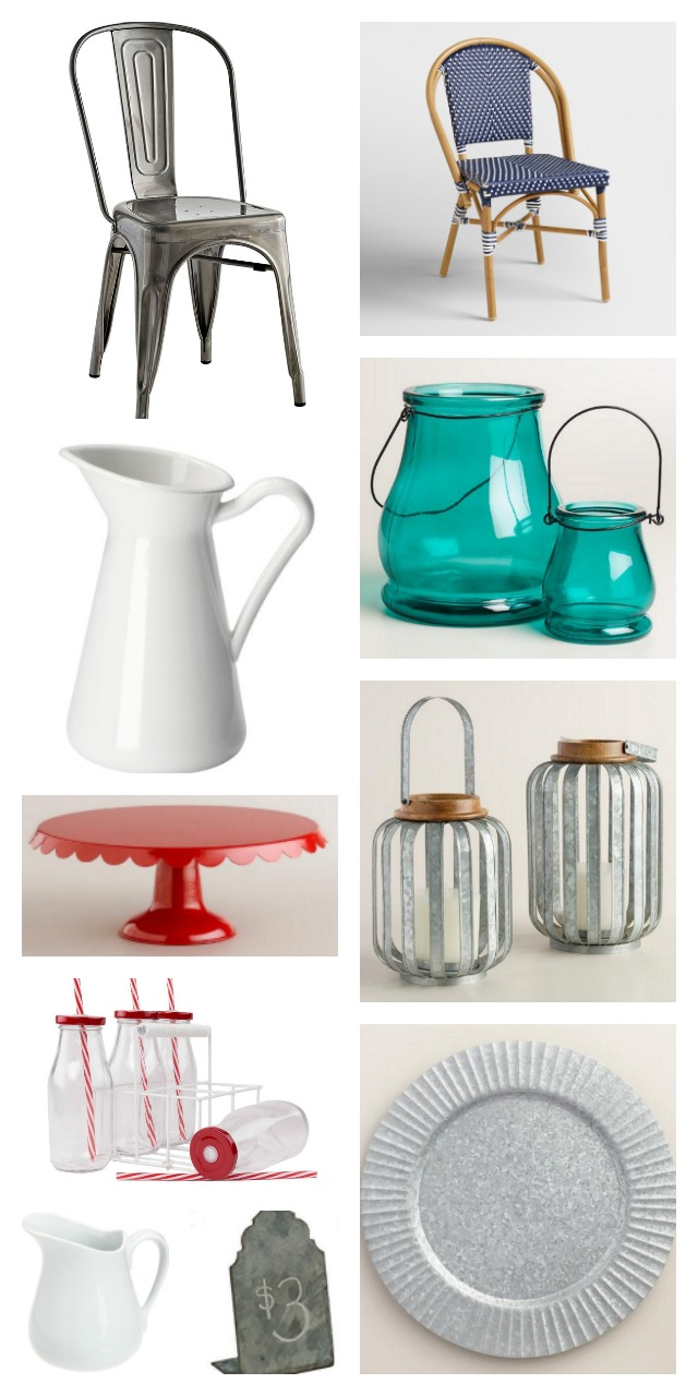 Use these items to set a farmhouse table for Christmas brunch.