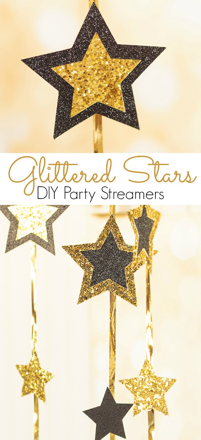 Learn how to make custom party streamers and confetti in any shape you want using the Cricut Explore Air. #ad #CricutMade