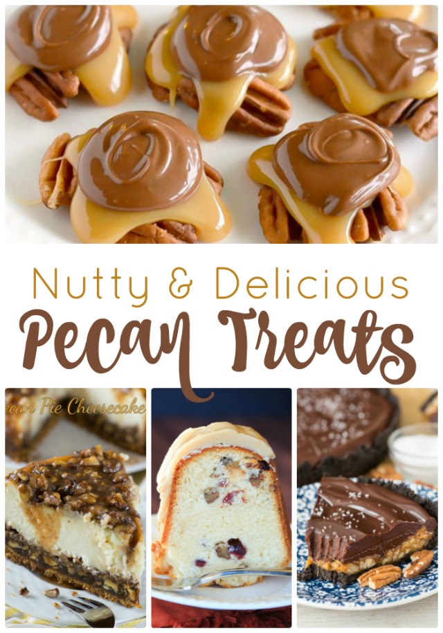 Are you nutty for nuts? Pecans in particular? Then you're going to love this collection of 25 delicious pecan recipes.