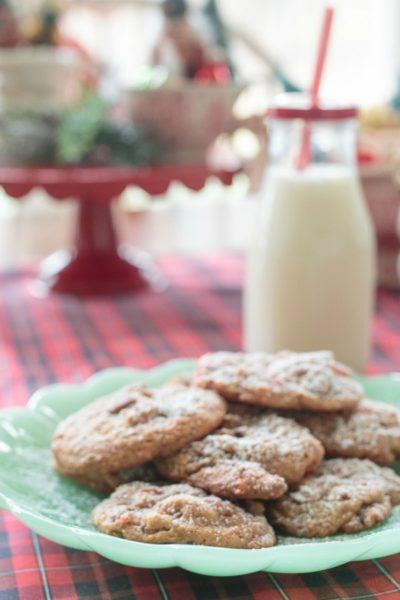 Easy Christmas Fruitcake Cookies Recipe