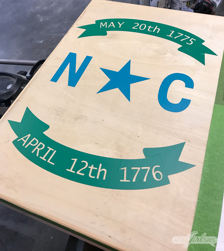 Transform plain cornhole boards into custom tailgate games with paint or stain and FrogTape. #ad #cornhole #backyardgames