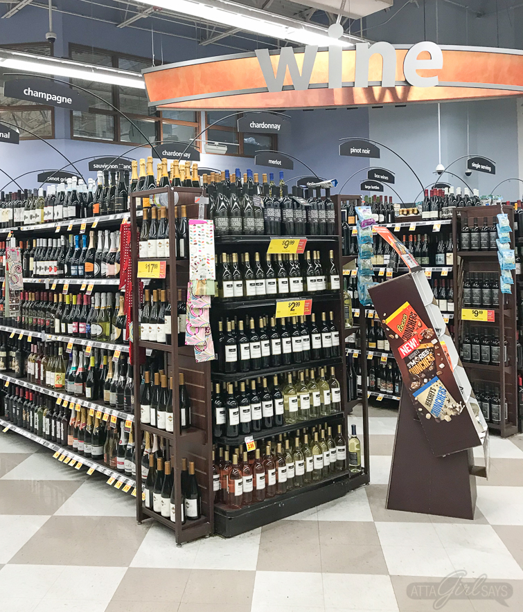 Find La Marca Prosecco in the wine department of your grocery store, near the champagne. #ad #CelebratorySips #CelebrateWithLaMarca